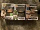 Funko POP! Arrow Lot Green Arrow #348 and 350 Malcom Merlyn exclusive! And #320