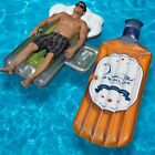 Swimline The Bourbon and Beer Mug Swimming Pool Floats Combo Pack