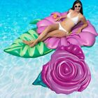 Swimline Rose Flower And Hibiscus Flower Swimming Pool Floats Combo Pack