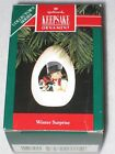 WINTER SURPRISE HALLMARK KEEPSAKE ORNAMENT #4 IN THE SERIES 1992