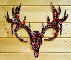 Wyvernized Braggn Buck Man Cave Wall Decor in Southern Pride Pattern NEW
