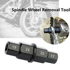 Front Axle Motorcycle Spindle Wheel 17 19 22 24mm Adjustment Removal Tool Wrench
