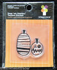 Chic Clear Stamp 2 Pumpkins Halloween Fun Spooky Town Collection Imaginisce NIP