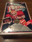 1991 Upper Deck Football Factory Sealed Box High Series Find The Joe Namath