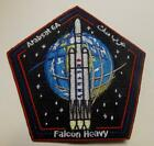 FALCON HEAVY ARABSAT 6A 45SW SPACE X MISSION PATCH FREE SHIPPING US COLLECTORS