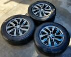 2015 INFINITI QX60 SPARE TIRE WHEEL DONUT SET OF 3  ML7 WH162