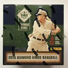 2019 Panini Diamond Kings Baseball FACTORY SEALED HOBBY BOX - 2 Hits Per Box