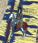 ROCKMOUNT RANCHWEAR NATIVE AMERICAN INDIAN SUIT NECKTIE TIE RARE FREE SHIPPING