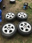 Mitsubishi 3000GT Dodge Stealth 17 Factory OEM Wheel Rim Set 4 5x1143 5x46