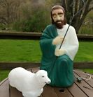 Vintage Empire 27 Blow Mold Nativity Shepard  Sheep CHRISTMAS LIGHT UP