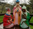 Vintage Empire Blow Mold Nativity 3 Wise Men CHRISTMAS LIGHT UP
