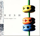 Rush Different Stages ï½¥ Live 1998 Japan Paper Sleeve 3 CD W/Obi AMCY-2891/3 HTF