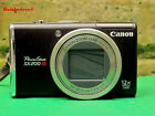 Canon Power Shot SX200 IS 12.1 Megapixel Digital Camera Brown