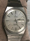 OMEGA Seamaster Day Date Automatic Mens Stainless Steel Watch 166.0215 366.0847
