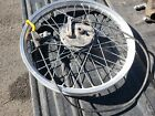 Yamaha 175 IT AHRMA IT175 Front Wheel Rim 1977 1978 WITH BRAKES / CABLE 21 x1.60