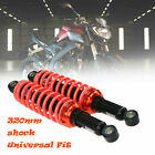 Pair Motorcycle Shock Absorber 320mm Round Type Fit for Most Honda Models US