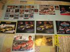 lot of 19+ NASCAR AUTOGRAPH CARDS AND POSTCARDS ~EARNHARDT JR, K.BUSCH, HARVICK