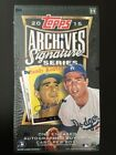 2015 Topps ARCHIVES SIGNATURE SERIES Baseball Sealed Hobby Box