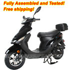 New 495cc gas Moped Scooter motorcycle street bike free shipping