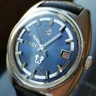 Rado Vintage Silver Horse 1968 Automatic 36mm Mens Stainless Swiss Watch J731