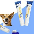 1pcs Edible Dog Puppy Cat Toothpaste Teeth Cleaning Care Oral Hygiene Pet Supply
