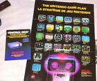 NES Control Deck Console Manual and the Nintendo Game Plan Poster Rob