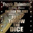 NEW YNGWIE MALMSTEEN'S RISING FORCE JUST THROW THE DICE 2CDR #Ke
