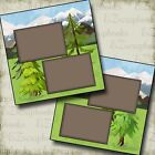MOUNTAIN VIEW 2 Premade Scrapbook Pages EZ Layout 2763