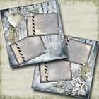 Beauty of Winter 2 Premade Scrapbook Pages EZ Layout 3644