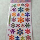 One Package Sticko FUNKY FLOWERS Binder Stickers NEW