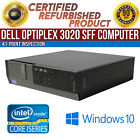 Dell OptiPlex 3020 SFF Intel i3 8GB RAM 500GB HDD Win 10 USB VGA B Grade Desktop