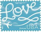100 USPS 2017 Love Skywriting Forever Stamps First Class Postage Stamps