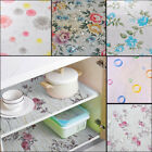 45200cm Self Adhesive Wall Paper Floral Shelf Drawer Liner Contact Paper