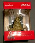 Hallmark Harry Potter Sorting Hat Boxed Christmas Ornament NEW