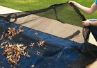 Rectangle Above or In Ground Swimming Pool Winter Leaf Net Covers Various Sizes
