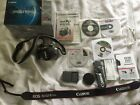 Canon EOS Digital Rebel XT 350D Silver Extras Super Clean