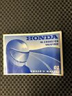 2001 HONDA GL1500C / CD VALKYRIE MOTORCYCLE OWNERS MANUAL -GL1500-F6C-GL Used