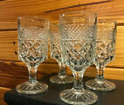 Wexford Anchor Hocking Footed Goblet Water Glass - 4 pc. Set  - 6 1/2