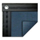 16 x 32 Rectangle In Ground Swimming Pool Mesh Winter Cover 15 Year Blue