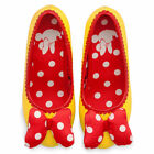 NWT Disney Store Minnie Mouse yellow Costume Dress Shoes Girls many sizes