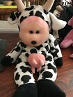 BEANIE KIDS SKANSEN LARGE CUDDLY KIDS - Creamy The Cow Bear, With Tags