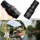 16x52 Adjustable Dual Focus Monocular Telescope Wide Scope Hunting Camping