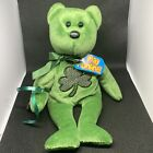 TY Beanie Baby Luckier St. Patrick's Day With Shamrock Excellent Condition
