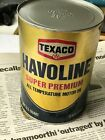 Texaco Havoline Super Premium Oil Can, 1 quart, EMPTY