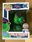 Funko POP! PHILLIE PHANATIC #05 MLB MASCOTS Limited Exclusive NEW, VIEW PICS!