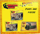 Vintage Kenner 1982 Indiana Jones Map Room well of the souls convoy truck Parts
