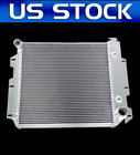 3 ROW ALUMINIUM RADIATOR FOR 1987 02 Jeep TJ Wrangler FOR V8 CHEVY ENGINE ONLY