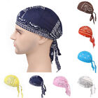Men Women Outdoor Cycling Headband Hat Cotton Bandana Headscarf Caps Head Wrap