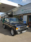 Range Rover Classic Vogue SE auto 4 door in Beluga Black with grey leather