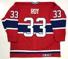 PATRICK ROY MONTREAL CANADIENS 1993 STANLEY CUP CCM MASKA AUTHENTIC JERSEY 54